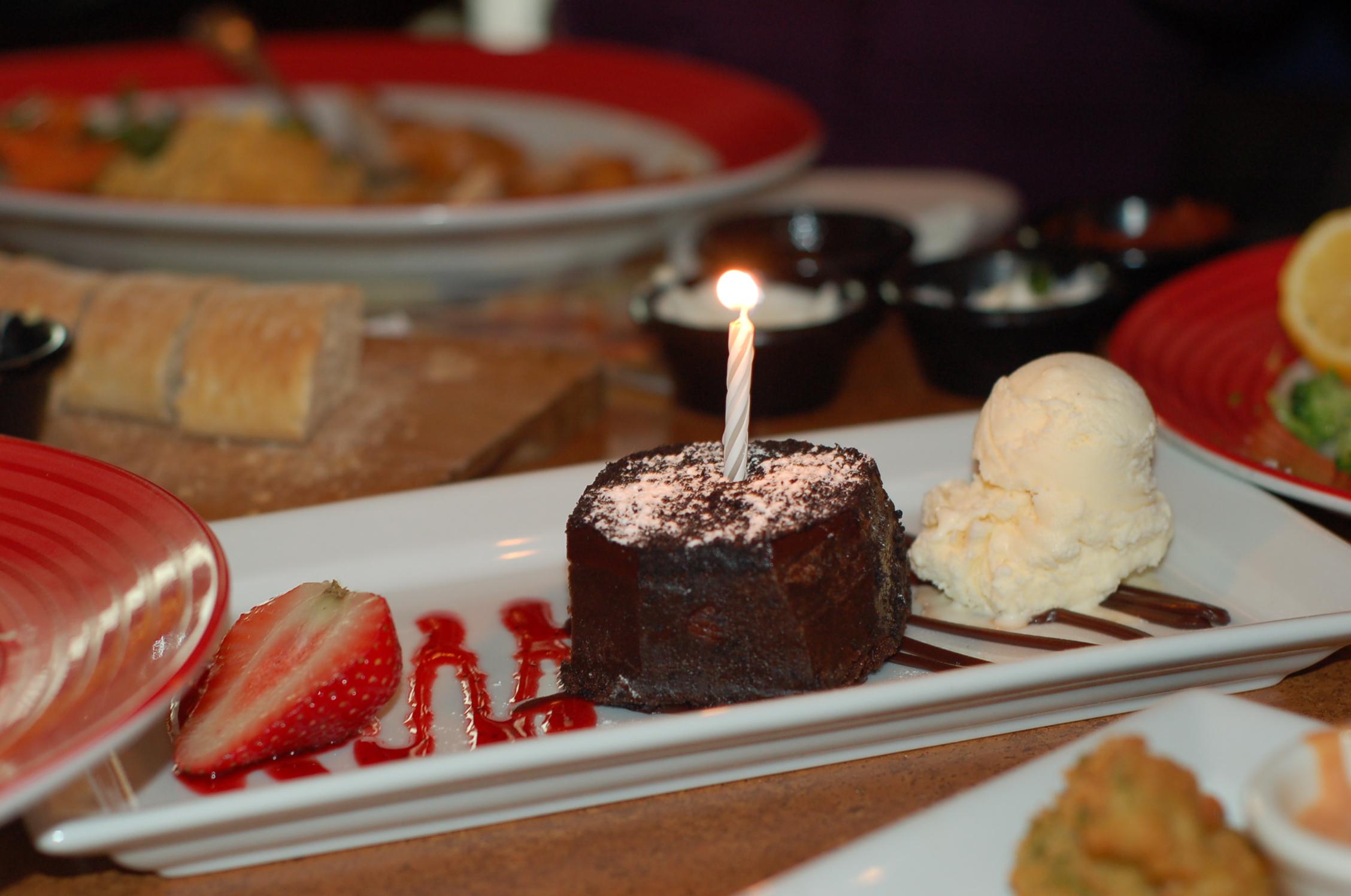 Happy Birthday TGIF Brownie