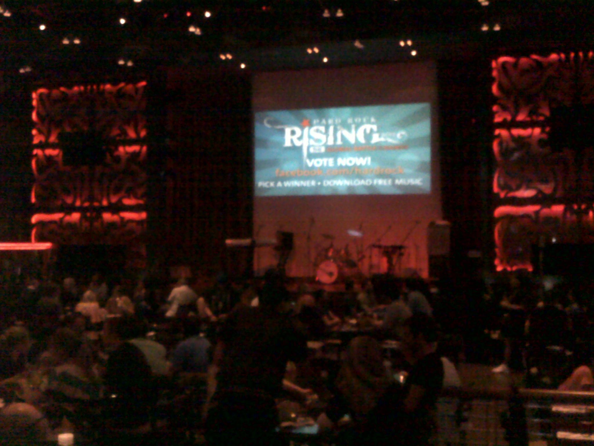 Hard Rock Cafe Dubai Live Band